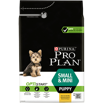 ​PURINA® PRO PLAN® Small & Mini Puppy with OPTISTART® Rich in chicken