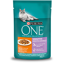 PURINA ONE® SENSITIVE s piletinom i mrkvom, 85g