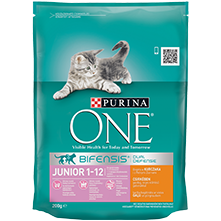 PURINA ONE® JUNIOR Bogata piletinom  i pšenicom