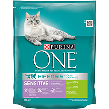 PURINA ONE® SENSITIVE Bogata puretinom